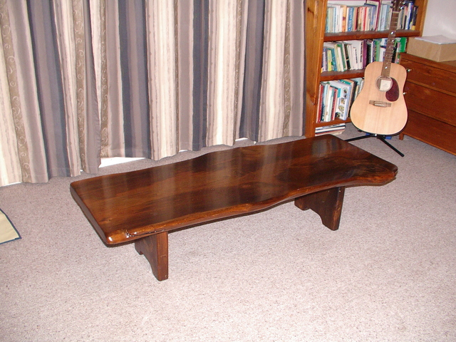 Swamp kauri occasional table